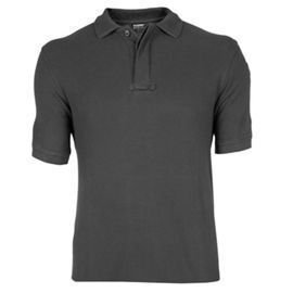 Polo BlackHawk Cotton Polo Shirt Black (87CP01BK)